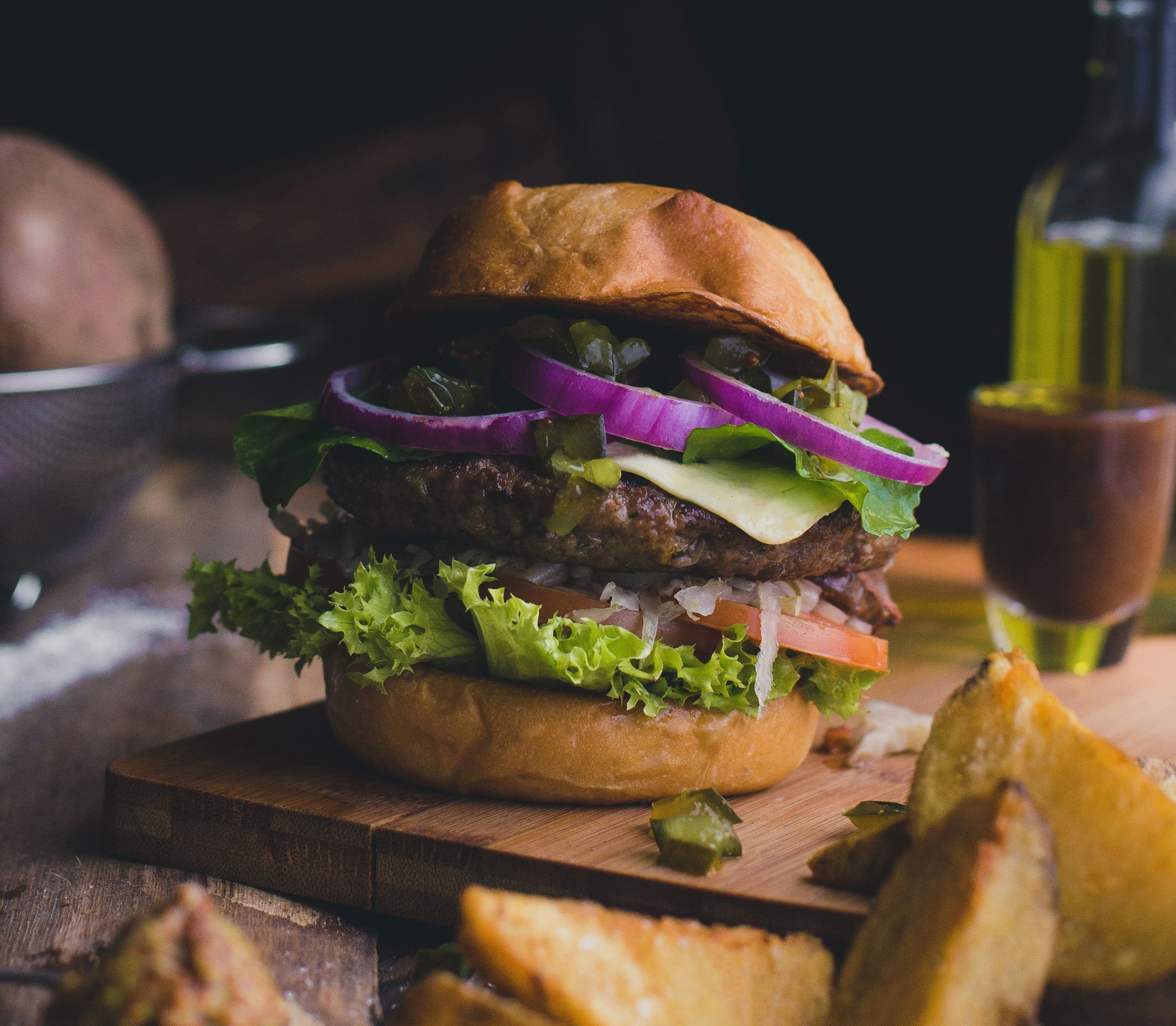 Our V Spice Seasonings are great in burgers